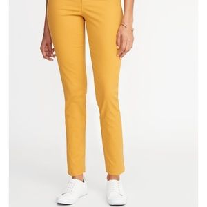 """Mid Rise Pixie Chino Pant in """"Golden Opportunity"""""""